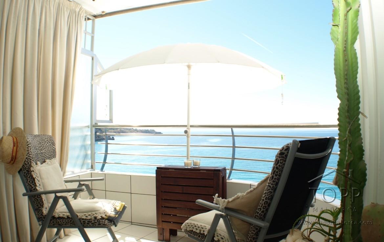 San Agustín. Primera linea de mar, con piscina comunitaria. Edificio Pelicano. 1 dormitorio. 2 baños. antiguamente 2 dormitorios. Preciosas vistas al mar.